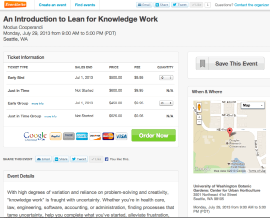 lean for knowledge work