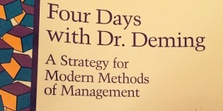 """Four Days with Dr. Deming"""