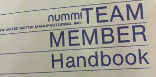 Highlights from the Original 1984 NUMMI Team Member Handbook, Part 1